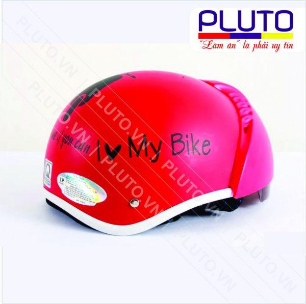 Mũ bảo hiểm nữa đầu có kính - My Bike