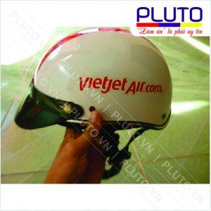 Mũ bảo hiểm quà tặng - VietJet Air