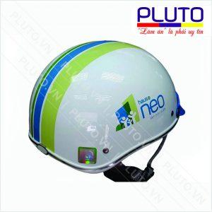 Nón bảo hiểm in logo - Công ty xây dựng