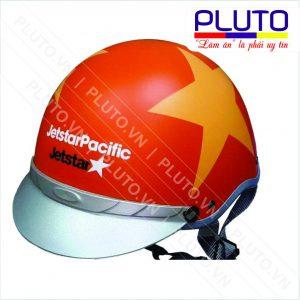 Nón bảo hiểm Jetstar màu cam