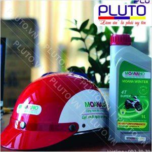 Nón quà tặng nữa đầu công ty dầu nhớt Moanano