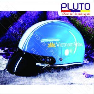 Xưởng sản xuất nón bảo hiểm quà tặng - Nón Vietnam Airlines