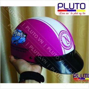 Xưởng sản xuất mũ bảo hiểm quảng cáo - Mẫu nón xe khách